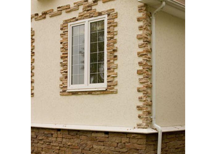 Как сделать декор на фасаде дома своими руками.